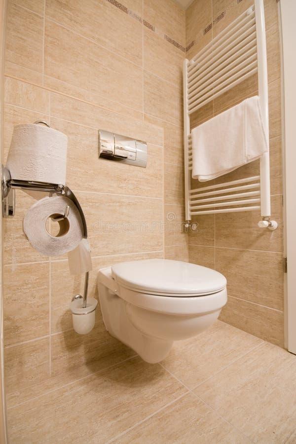 toilette arkivfoto