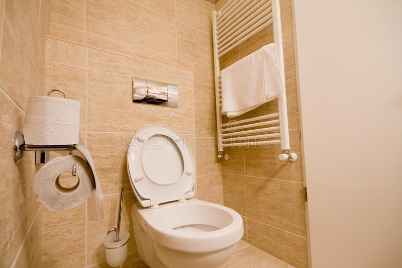 Toilette imagens de stock