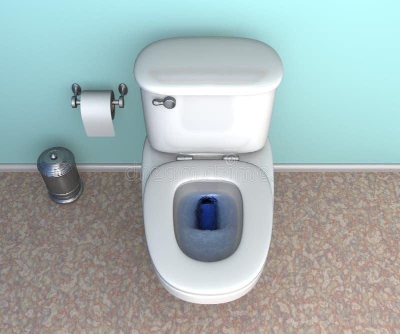 Toilette illustration libre de droits