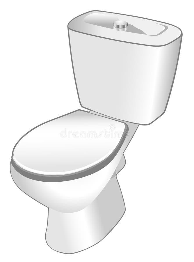 Toilette vektor abbildung