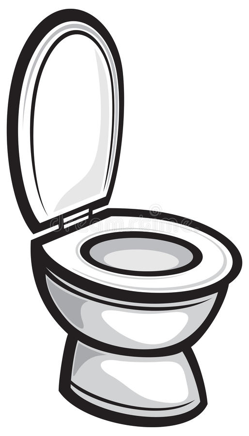 Toilette lizenzfreie abbildung