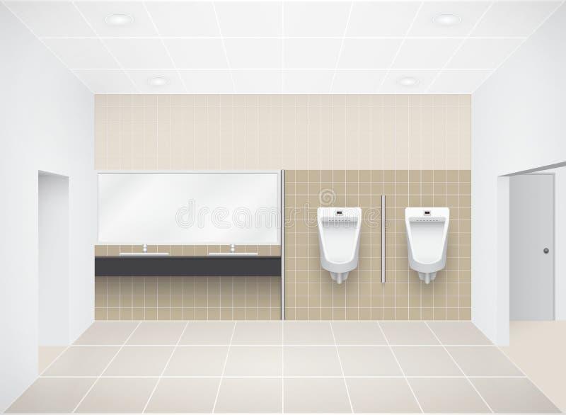 Toilette illustrazione vettoriale