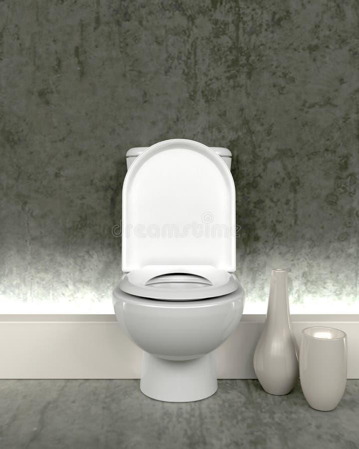 toilette contemporaine illustration stock illustration du miroir 9846274. Black Bedroom Furniture Sets. Home Design Ideas