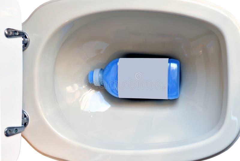 toilette détergente photographie stock libre de droits
