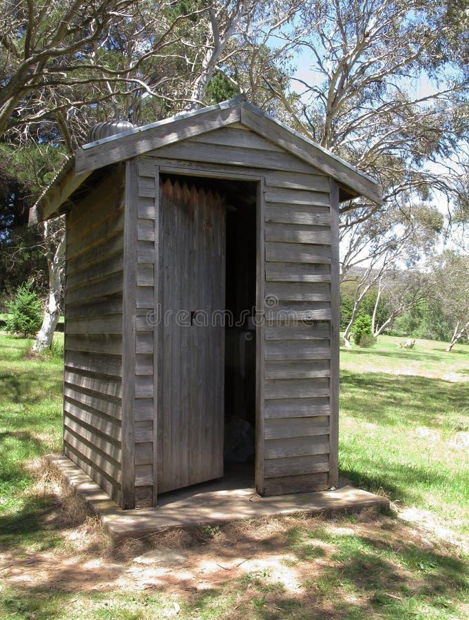Toilette de Bush image libre de droits