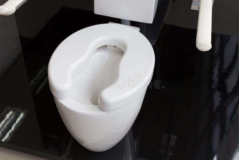 toilette del lavabo per gli anziani fotografie stock