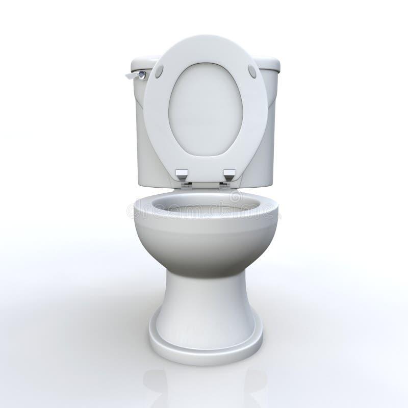 Toilette et réservoir photo libre de droits