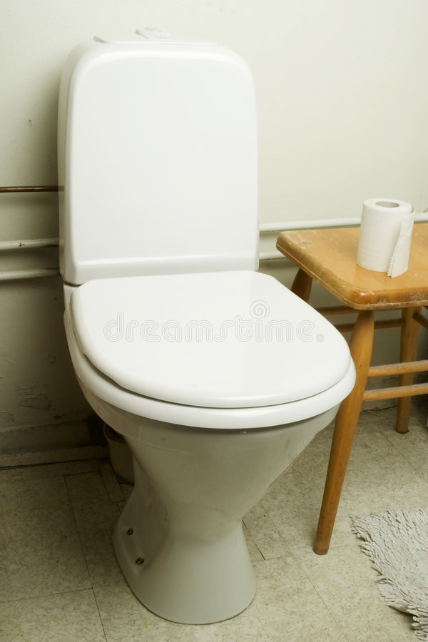 Toilette européenne photographie stock