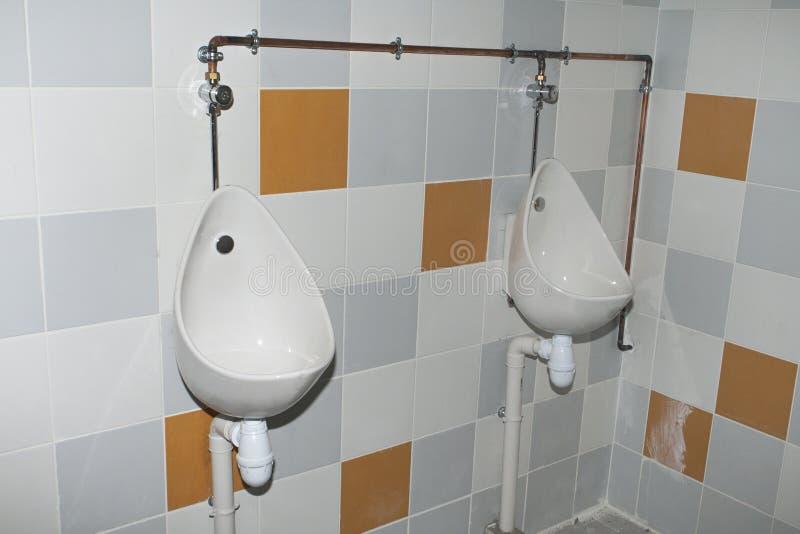 Toilette nel rinnovamento fotografia stock