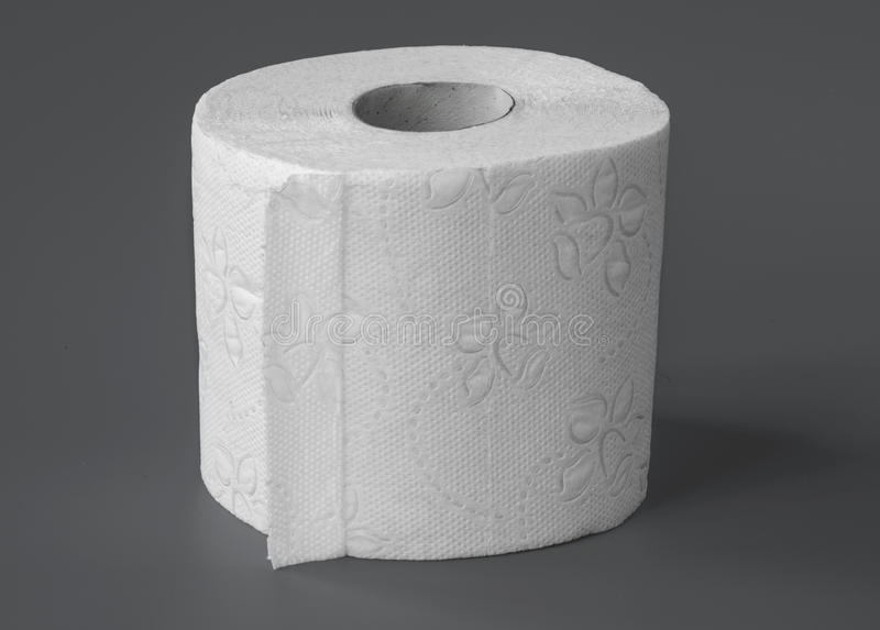 TOILETTE PAPER ROLL royalty free stock image