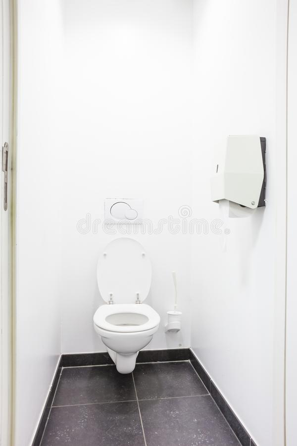 Toilette publique image stock