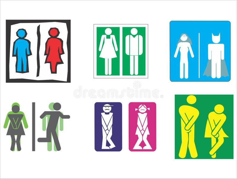 Toilette toilette simbolo del wc immagini stock libere for Wc immagini