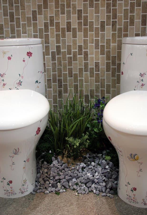 Toiletten lizenzfreie stockbilder