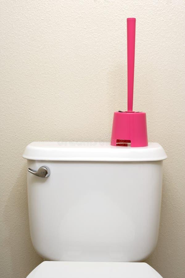 Toiletten-Pinsel stockfotos