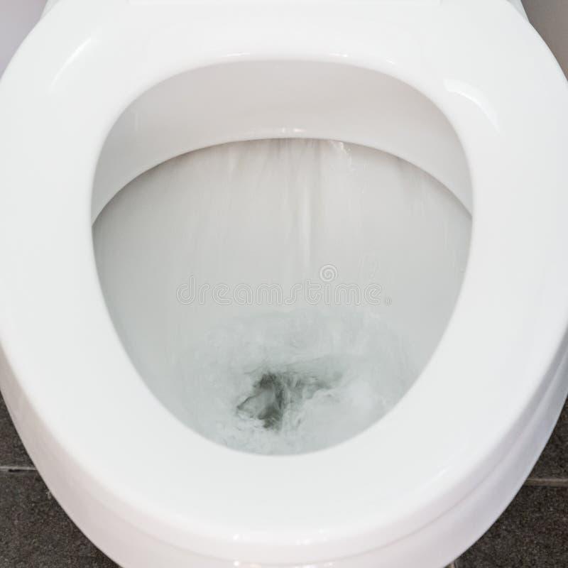 Toiletten-Spülwasser stockbilder