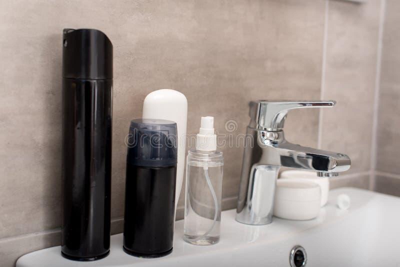 toilettenartikel lizenzfreie stockfotografie