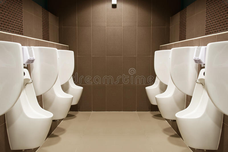 Toilettenmanntoilette stockbild