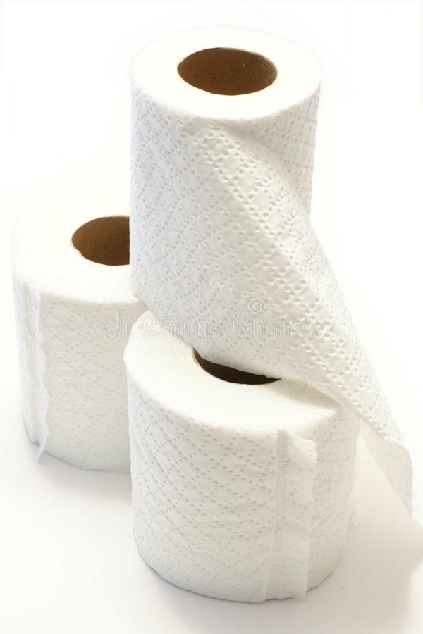 Toilettenpapier stockbilder