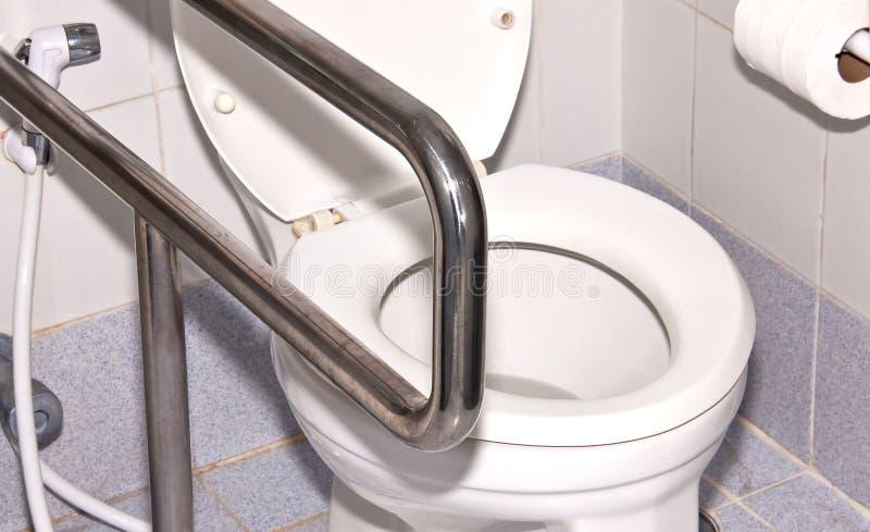 Toilettenraum. stockfoto