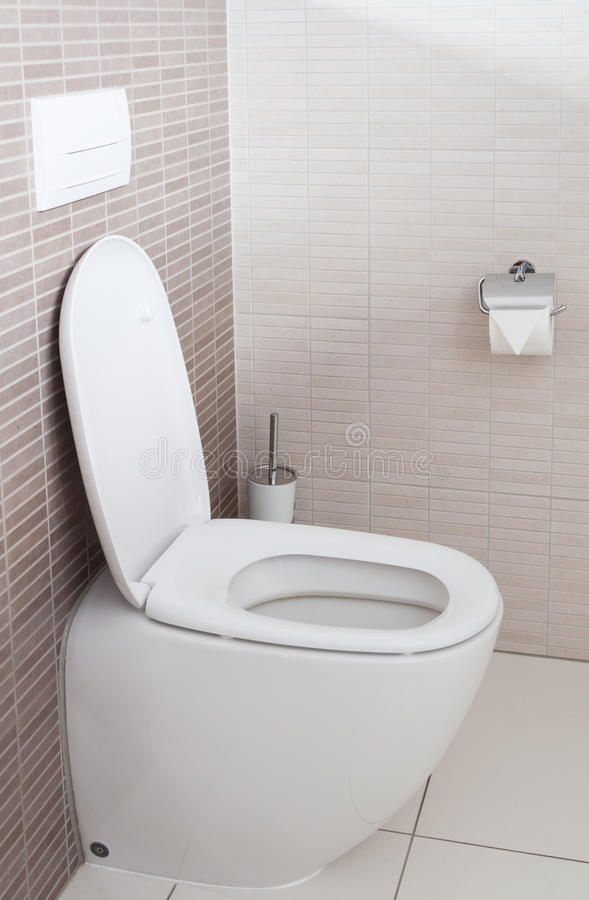 Toilettenschüssel lizenzfreie stockfotos