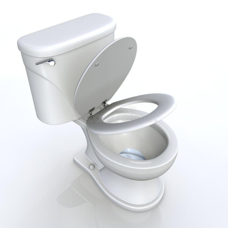 Toilettensitz  lizenzfreie stockfotografie