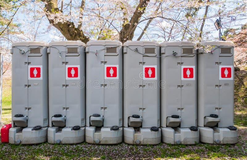 Download Toilettes portatives photo stock. Image du événement - 76089390