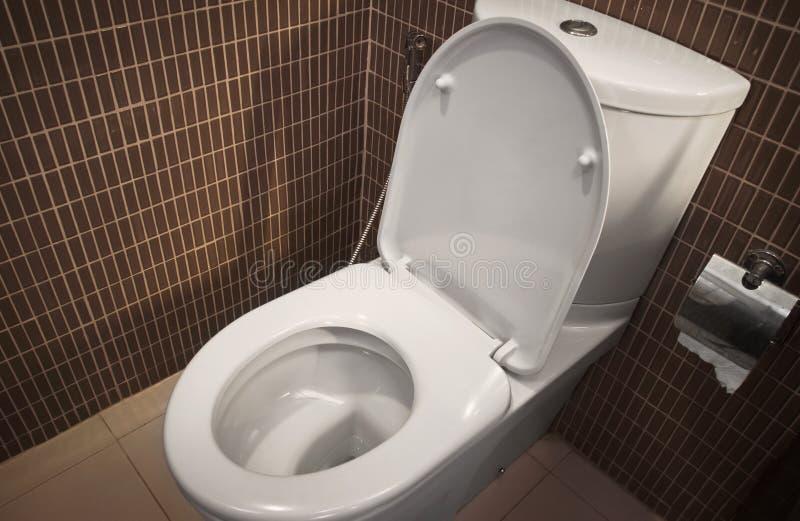 Toiletzetel stock afbeeldingen