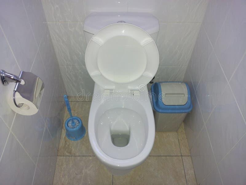 Toiletzetel stock foto's