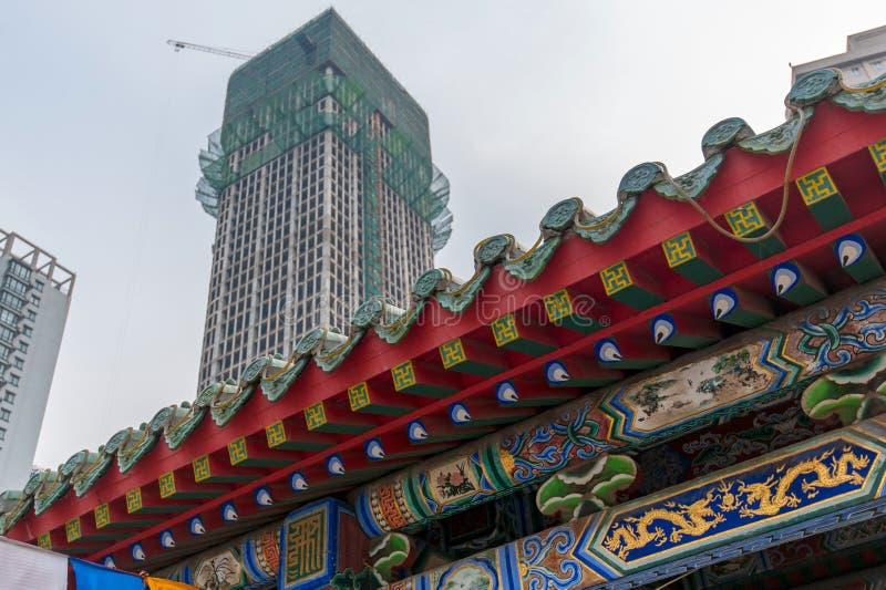 Toit chinois classique photo libre de droits