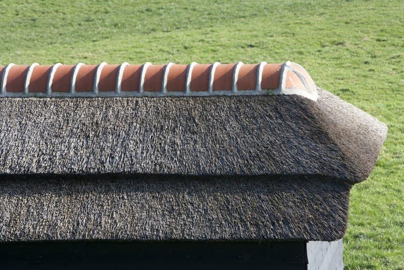 toit couvert de chaume image stock image du hollandais 53737643. Black Bedroom Furniture Sets. Home Design Ideas