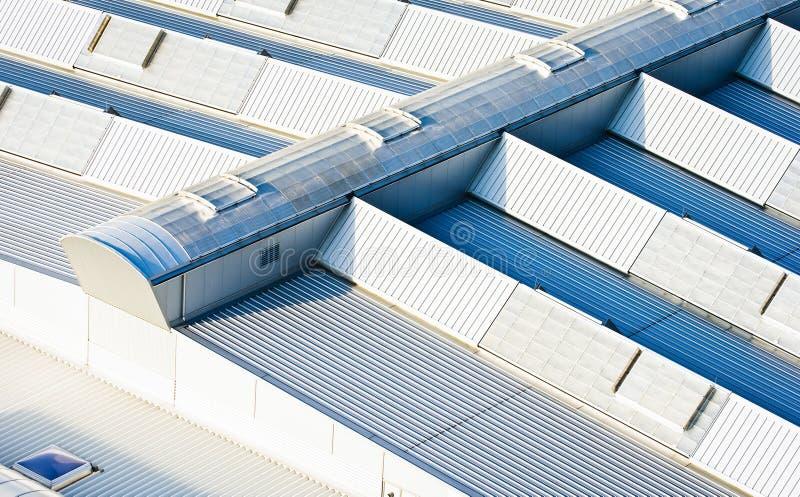 Toit D Industrie Photo libre de droits