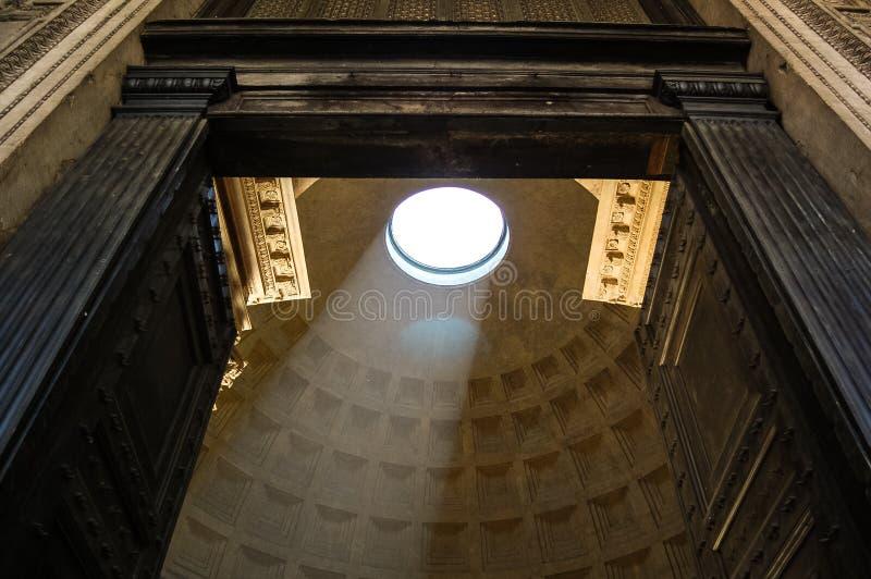 Toit de Panthéon photo stock