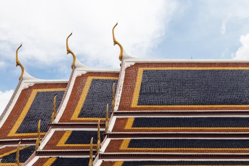 Toit de temple photographie stock libre de droits