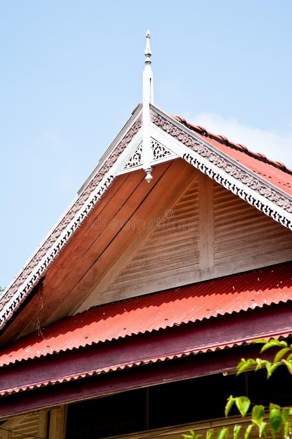 Toit thaïlandais de pavillon photos stock