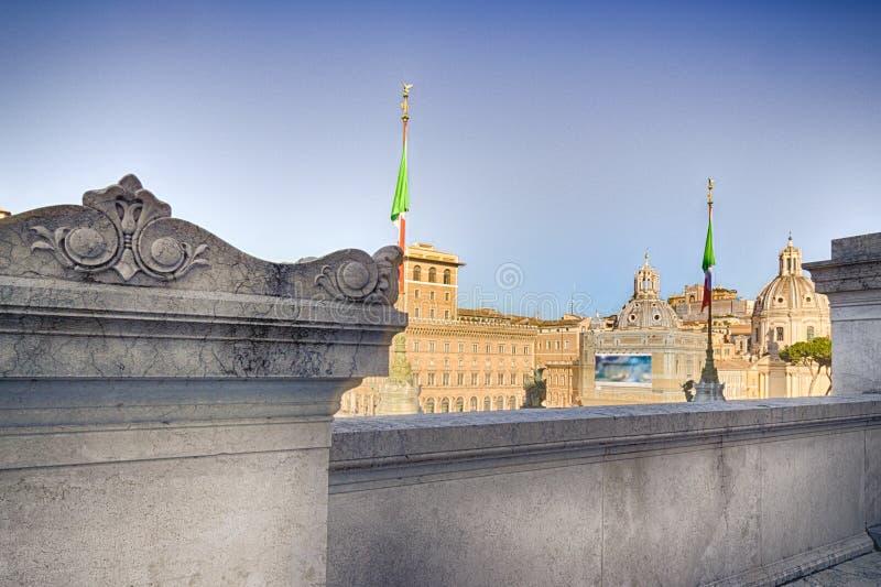 toits antiques de Rome photos stock