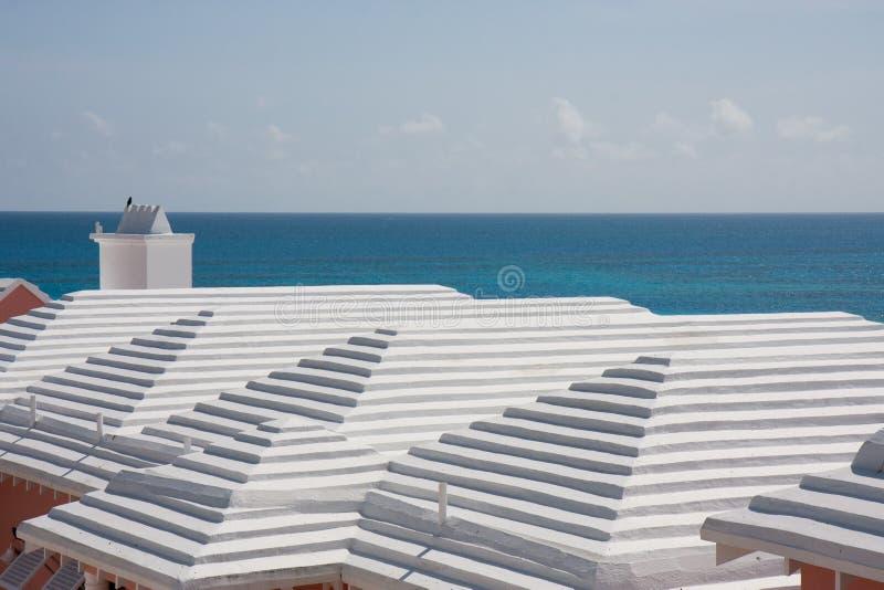 Toits bermudiens photos libres de droits