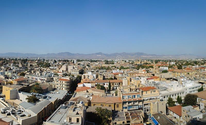 Toits de Nicosia photos stock