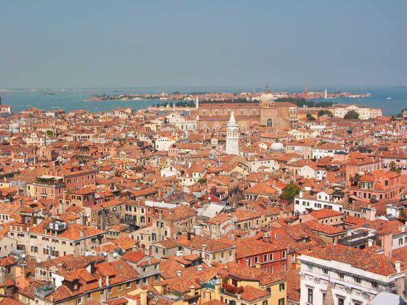 Toits de Venise photo stock