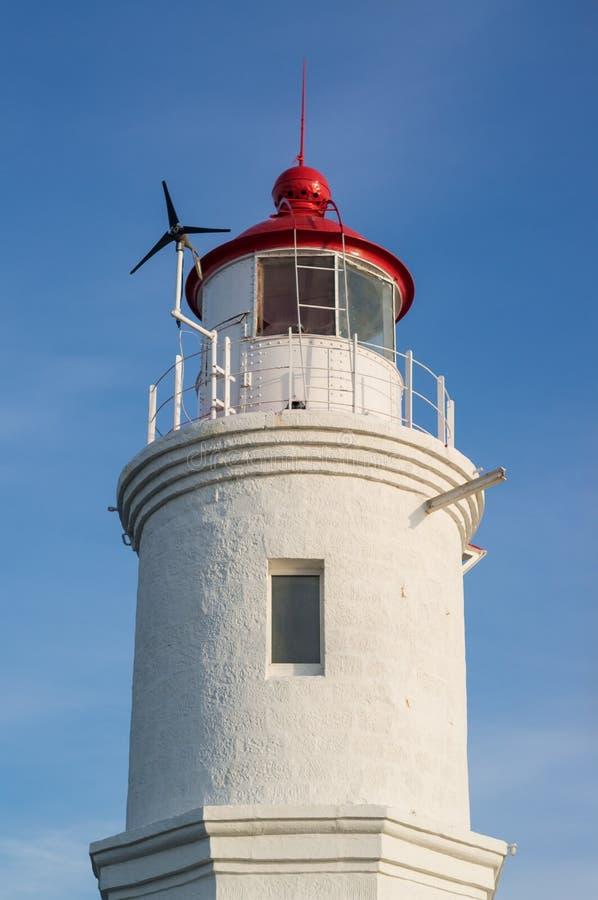 Download Tokarevskiy Lighthouse In Vladivostok, Russia. Stock Image - Image of lighthouse, closeup: 90644933