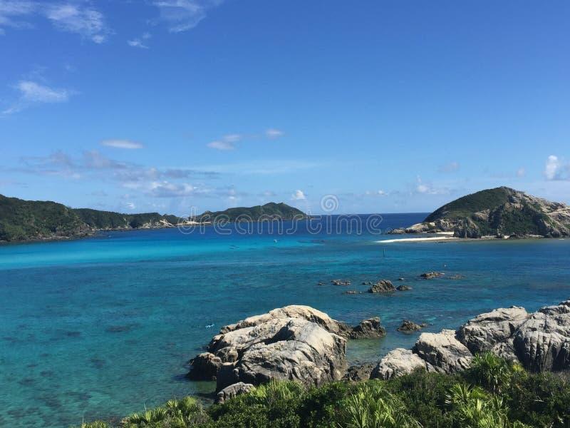 Tokashiki Island. In Japan royalty free stock photography