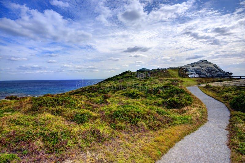 Tokashiki, Okinawa krajobraz fotografia stock