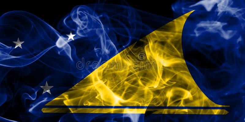 Tokelau rökflagga, ny Zaeland beroende territoriumflagga royaltyfri foto