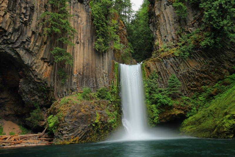 Toketee nedgångar i Oregon arkivbild