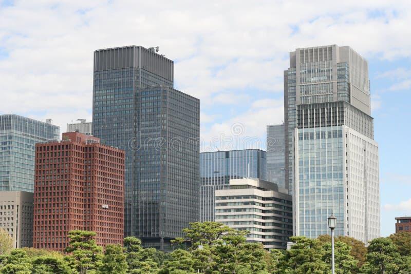 Tokio budynek biurowy obraz royalty free