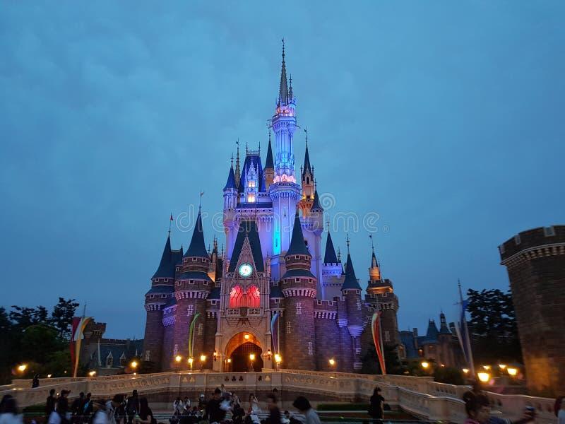 Tokio Disneylandya fotos de archivo libres de regalías