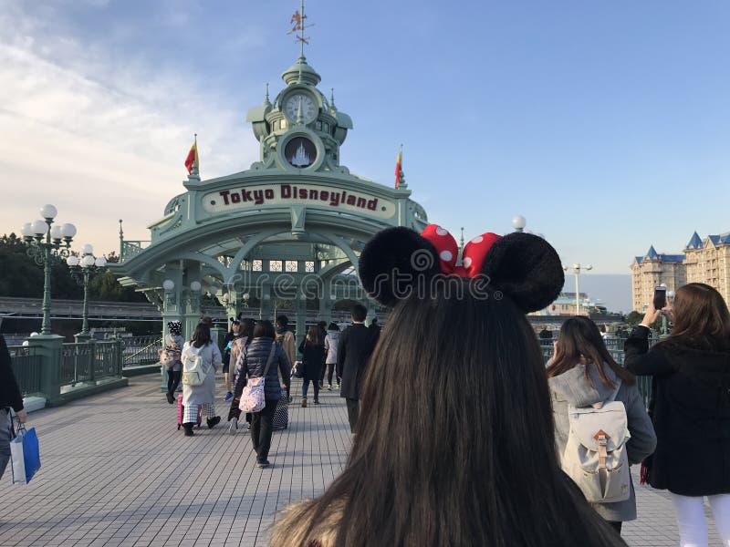 Tokio Disneylandya foto de archivo