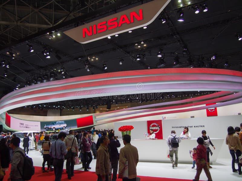 TOKIO, JAPÓN - 23 de noviembre de 2013: Cabina en Nissan Motor fotos de archivo libres de regalías