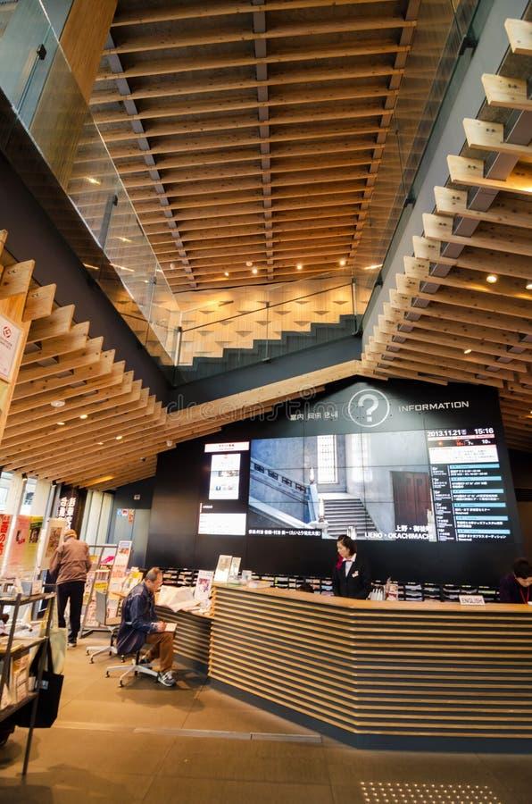 Tokio Japonia, Listopad, - 21, 2013: Niezidentyfikowani turyści w Asakusa kultury Turystycznym centrum obraz royalty free