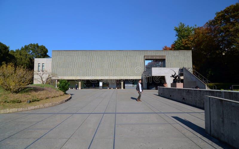 TOKIO JAPONIA, NOV, - 22: Muzeum Zachodnia sztuka zdjęcia stock