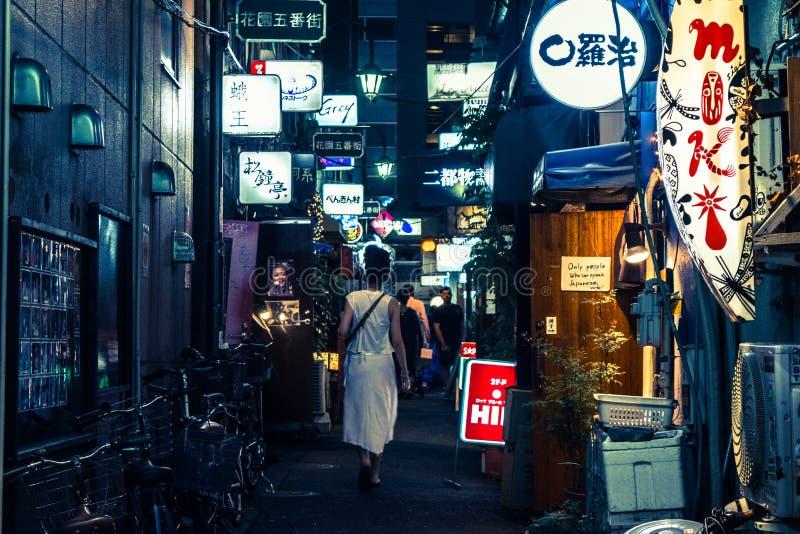 TOKIO JAPONIA, SIERPIEŃ -, 2017 fotografia royalty free